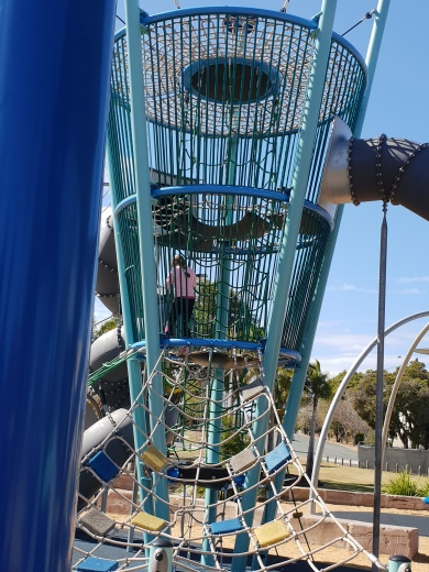 Awesome new park in Beaudesert for the kids.